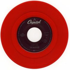 Red 45's looked good on the record player. MY MOM HAD A FEW OF THESE