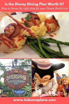 As you prepare for your Disney vacation, food is a HUGE piece of the pie (pun intended). Let us help you navigate all of your options so you can choose which one is best for your family! Walt Disney World Orlando, Disney World Secrets, Disney World Planning, Walt Disney World Vacations, Disney World Tips And Tricks, Disney Tips, Disney Food, Traveling With Baby, Travel With Kids