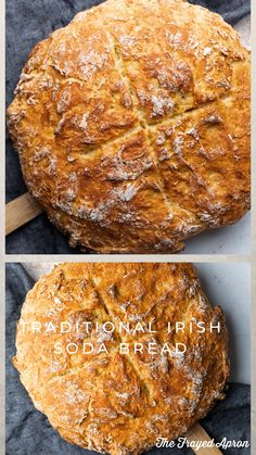irish soda bread easy - irish soda bread easy + irish soda bread easy no buttermilk + irish soda bread easy st. patrick's day + irish soda bread easy recipes for + irish soda bread easy moist + irish soda bread easy videos Easy Irish Recipes, Dutch Oven Recipes, Cooking Recipes, Budget Recipes, Irish Desserts, Asian Desserts, Corned Beef, Bread Recipe Video, Recipe For Irish Soda Bread