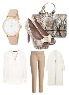 """""""Elegant snake"""" by simikaykay on Polyvore featuring Theory, MANGO, Street Level, UGG, Kate Spade and Brunello Cucinelli"""