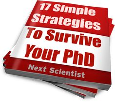 17 Simple Strategies to Survive Your PhD — Ebooks For PhD students