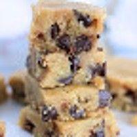 Just Jessie B: Cookie Dough Fudge Bars   Paleo