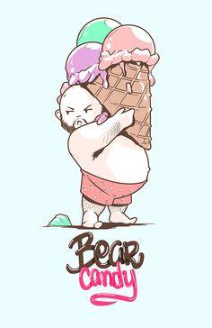 https://www.behance.net/gallery/18622253/Bear-Candy-Sale?utm_medium=email