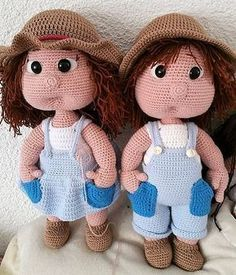 Free Crochet Amigurumi Doll Pattern Tutorials