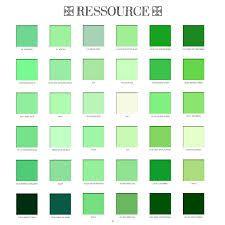 Nuancier vert recherche google nuancier blanc noir - Palette de couleur vert ...
