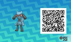 Riolu PLEASE FOLLOW ME FOR MORE DAILY NEWS ABOUT GAME POKÉMON SUN AND MOON. SIGA PARA MAIS NOVIDADES DIÁRIAS SOBRE O GAME POKÉMON SUN AND MOON. Game qr code Sun and moon código qr sol e lua Pokémon Nintendo jogos 3ds games gamingposts caulofduty gaming gamer relatable Pokémon Go Pokemon XY Pokémon Oras