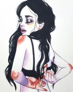 pixelken | supersonicart: Harumi Hironaka Illustrations.Im into these...