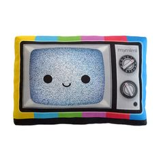 #Cute Happy Color #TV. Looks like every mymimi #pillow smiles like the Nintendo clouds, mountains, etc.