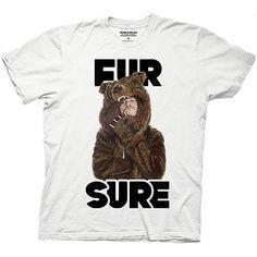 Workaholics Fur Sure Blake Sunglasses Bear Coat T-Shirt