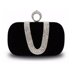 Women Diamond Crown Evening Bag ($13) ❤ liked on Polyvore featuring bags, handbags, diamond purse, evening bags, diamond bag, rose handbag and rose purse