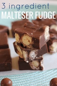 Easy fudge recipes are perfect for those times you need something sweet to feed a crowd; a little bit goes a long way.  This 3 ingredient chocolate Malteser fudge is great for Malteser and chocolate fans alike.   To make this quick and easy fudge, you will need Maltesers, dark or milk chocolate (whichever […]