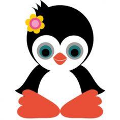 Pinguin uitprinten en er een kaarsje achter plakken :-)