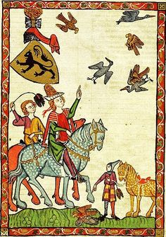 Codex Manesse Markgraf Heinrich von Meißen