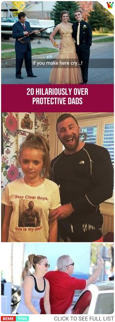 20 Hilariously Over Protective Dads #dads #daughters #parents #parenting #funnypictures #funnypics #photos #protective #humor #bemethis