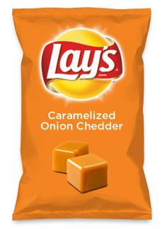 Wouldn't Caramelized Onion Chedder be yummy as a chip? Lay's Do Us A Flavor is back, and the search is on for the yummiest flavor idea. Create a flavor, choose a chip and you could win $1 million! https://www.dousaflavor.com See Rules.