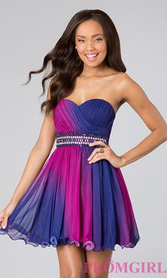 Short Prom Dress Style: MY-6940OS1P Front Image