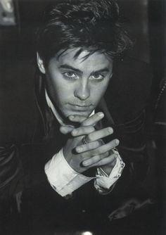 Jared Leto 1995. Photo Nicolas Moore for Harper's Bazaar Uomo