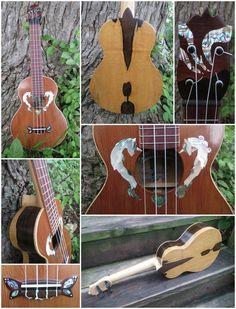 Crystal Heart ukulele by dekutree64 on DeviantArt