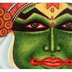Kathakali Mural Painting