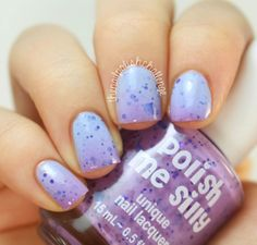 the nail polish challenge: Polish Me Silly Thermal Swatches!