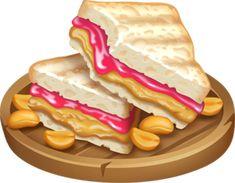 Sandwich Bar, Sandwiches, Making Peanut Butter, Hay Day, Jelly, Raspberry, Breakfast, Fandom, Food