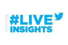 Twitter lança #LiveInsights - dados p/ marcas e agências em tempo real durante as Olimpíadas - Blue Bus Tempo Real, Insight, Company Logo, Internet, Twitter