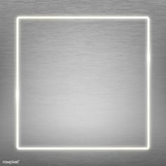 Square  white neon frame on a silver background vector | premium image by rawpixel.com / manotang Poster Background Design, Dslr Background Images, Instagram Background, Leaf Background, Paper Background, Textured Background, Unique Wallpaper, Pretty Wallpapers, Neon Design
