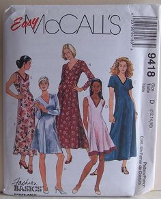 Misses Dress Size 12 14 16 UNCUT Sewing Pattern by by filecutter, $2.49