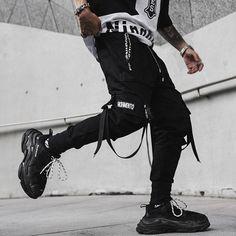 #techwear #frenchtechwear #stylefrancais #techwearfashion#streetwearfrancais #techwearfr #techwearfashion #techweargeneral #techwearfits #techwearlooks #urbanninja #techwearsociety #techwearusa #futurewear #darkwear #wearetechwear #techwearlooks #techwearfits #drkshdw Black Jogger Pants, Jogger Sweatpants, Cargo Pants, Black Pants, Men Pants, Harem Pants Fashion, Harem Trousers, Style Sarouel, Pantalon Streetwear