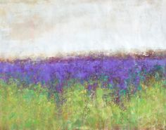 Large abstract painting Lavender Turquoise impressionist landscape painting contemporary art original by Don Bishop by GalleryZen on Etsy https://www.etsy.com/listing/281016726/large-abstract-painting-lavender