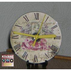 Angel Eyes CD Desk or Wall Clock Listing in the Novelty Clocks,Clocks,Home & Garden Category on eBid United Kingdom | 145595375