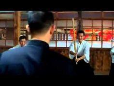 Джет Ли Бой в додзе Fist of Legend   Jet Li Chen Zhen) Dojo Fight