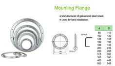 Mounting Flange for Duct System - http://www.smartclima.com/mounting-flange-for-duct-system.htm