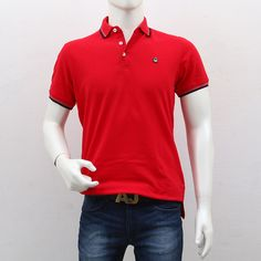 United Colors of Benetton – Red Polo T-Shirt Polo T Shirts, Benetton, Shopping Sites, Men's Collection, Outlets, Polo Ralph Lauren, Cool Style, The Unit, Break Outs