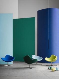In Mezzo fauteuil lounge K2 Deisgn Busk+Hertzog  #Blue #green #K2 #design #madeindenmark #quality #handmade #InMezzo