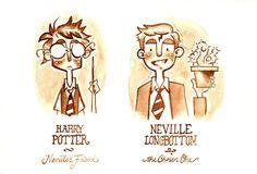 Neville Longbottom, Chosen One by hooraylorraine.deviantart.com