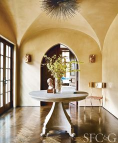 Interior Designer Katie Raffetto Brings Sophisticated Style to a Gracious Hillsborough Estate - San Francisco Cottages & Gardens - April 2017 - San Francisco