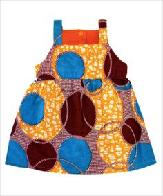 Colorful Cotton Toddler Dress