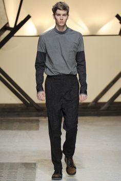 Damir Doma menswear collection, autumn/winter 2014