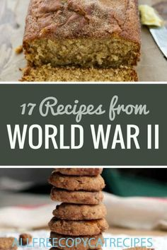 Cooking on the Home Front: 17 Recipes from World War II - RecipeChatter, Baking Vintage Recipes Vintage Recipes Recipes Recipes Recipes Recipes Recipes Recipes Recipes Recipes Recipes Recipes Recipes Recipes appetizers Recipes australia Recipes Retro Recipes, Old Recipes, Vintage Recipes, Baking Recipes, Budget Recipes, Family Recipes, German Recipes, Donut Recipes, Yummy Recipes