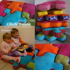 tuto puzzle coussin