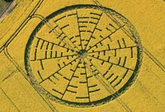 Crop circle season arrives with a mathematical message