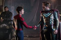 Spider-Man: Far From Home has unveiled a new poster, paying tribute to 'Iron Man'. The spoiler-filled poster sees Tom Holland as 'Peter Parker' donning his 'Spider-Man' costume on a building, with a graffiti of 'Iron … Nick Fury, Jake Gyllenhaal, Tony Stark, Tom Holland, Maria Hill, Marvel Cinematic Universe Movies, Marvel Movies, Marvel Universe, Marvel Villains