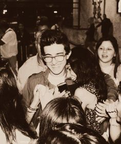 Piero Barone with fans <3
