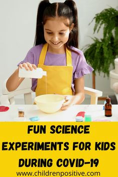 Fun Science Experiments For Kids During COVID-19 - Children positive Borax Experiments, Cool Science Experiments, Science For Kids, Summer Camps For Kids, Summer Kids, Chemical And Physical Changes, Balloon Rocket, How To Squeeze Lemons, Breastfeeding