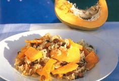 Κολοκυθόρυζο στο φούρνο Food Categories, Cantaloupe, Vegan Recipes, Fruit, Cook, Drink, Gastronomia, Soda, The Fruit