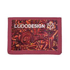 Cartera Mujer Red Symbols Ludodesign