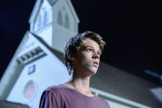 Joe Joe (Colin Ford) is surprised at what he sees on the first season finale of UNDER THE DOME.