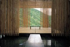 Kengo Kuma (Japan) - Bamboo Wall House, Commune by the Great Wall, China