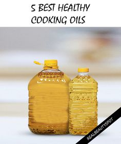 Top Five Healthy Cooking Oils